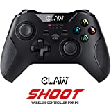 CLAW Shoot Wireless 2.4Ghz USB Gamepad Controller for PC Supports Windows XP/7/8/10