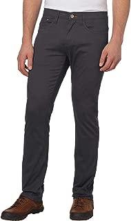 Weatherproof Vintage Men's 5 Pocket Twill Pant (Charcoal, 32 x 30)