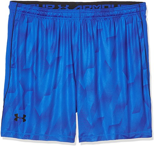 Under Armour Shorts Raid 8 Printed Herren Fitness Hosen & Shorts Blue Marker, XL, 1257826-789