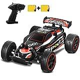 SZJJX Coche de Control Remoto de Alta Velocidad RC Cars 2.4Ghz 1:20 Fast Racing Drifting Buggy Hobby Vehículo eléctrico Vehículo de Juguete para niños Niños Niñas Regalo (Rojo)