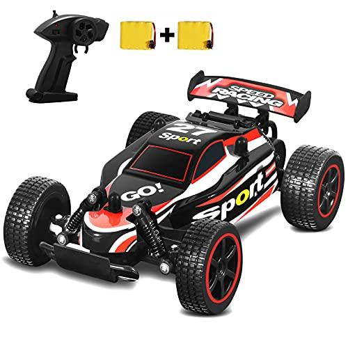 SZJJX RC Autos 20+KM/H Schnelle Geschwindigkeit Ferngesteuertes Auto 1:20 2.4Ghz Renndriften Buggy Hobby 2WD Elektroauto Fahrzeug Spielzeug für Kinder Geschenk