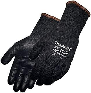 John Tillman #958 Polyurethane Coated Black Cut Resistant Gloves Size Large