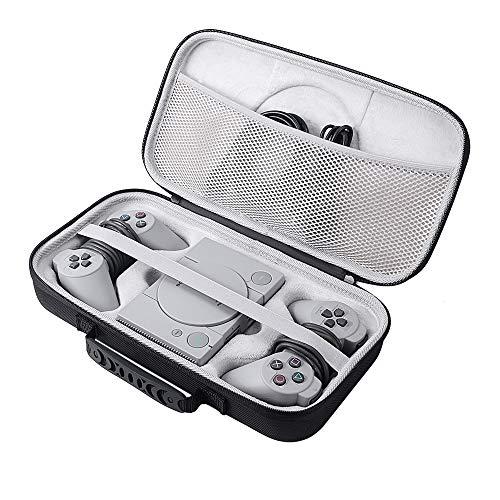 Zaracle - Custodia protettiva da viaggio per console Sony Playstation Classic, custodia rigida per PS Playstation Mini Console