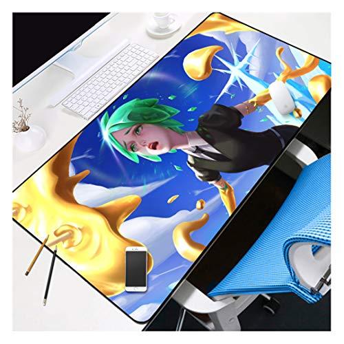 HOTPRO E-Deportes Almohadilla de Ratón para Juegos XXL-900X400X3MM,Base de Goma Antideslizante y Flexible,para Gamers Ordenador,PC y Portátil Glorious Girl-5