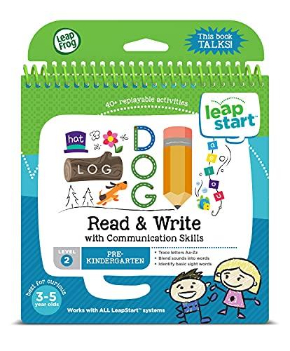 LeapFrog LeapStart Pre-Kindergarten Activity Book: Read and Write and Communication Skills