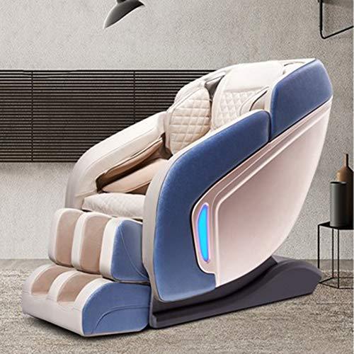 G-FLOOR-MAT 3D Schwerelosigkeit Massagesessel Liegesessel, Superior Massagesessel Ruhesessel Mit Lautsprechern Polster, Yoga-Stretch, 3D-Roboter-Handrollen,C