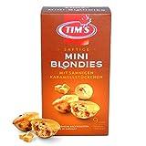 Tims Mini Blondies 200 g I Mini Gebäck mit Karamell Vanille Geschmack I Einzeln verpackte, saftige Küchlein ohne Konservierungsstoffe I Traditionelle kanadische Backwaren Made in Germany