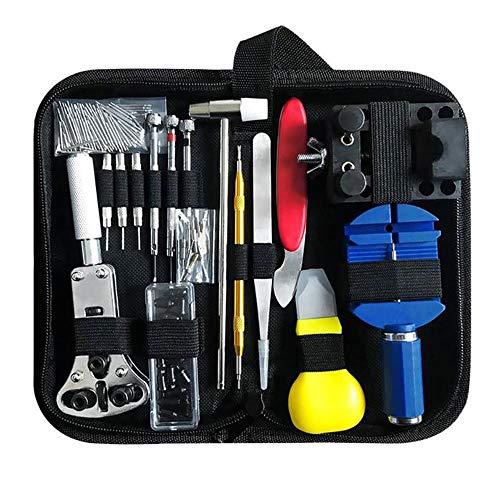 147PCS Uhr-Reparatur-Werkzeug-Kit-Uhr-Verbindungs-Remover-Kasten-Öffner-Frühlings-Stab-Remover-Reparatur-Tool-Kit
