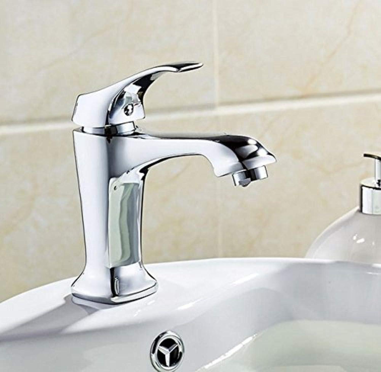360 ° drehbaren Wasserhahn Retro Wasserhahn Becken Wasserhahn Hot & Cold Wasserhahn Moderne Stil Verchromt Bad Singe Griff Wasserhahn
