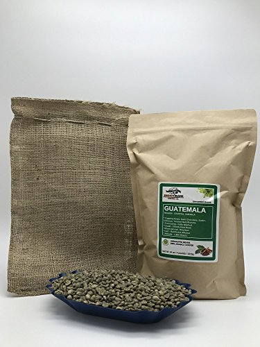 4 LBS – GUATEMALA (includes a FREE BURLAP BAG) Specialty-Grade, CURRENT-CROP Green Unroasted Coffee Beans – Finca Nueva Granada – This Farm Implements Impressive Sustainable Farming Practices