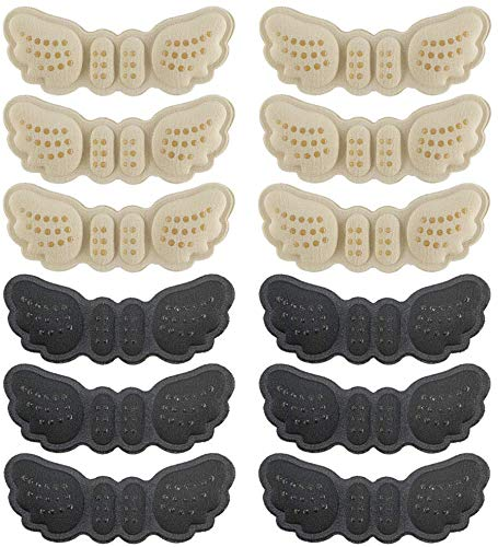 6 Pairs Heel Cushion snugs Inserts Shoe Pads...
