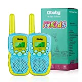 Obuby Toys for 3-12 Year Old Boys Girls Walkie Talkies for Kids 22 Channels 2 Way Radio Gifts with Backlit LCD Flashlight 3 KMs Range Gift Toy for Boy Girl to Outside Adventure