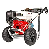 SIMPSON Cleaning ALH4240 Aluminum Gas Pressure Washer Powered by Honda GX390, 4200 PSI @ 4.0 GPM,...