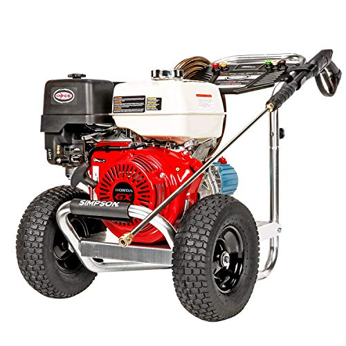 SIMPSON Cleaning ALH4240 Aluminum Gas Pressure Washer Powered by...