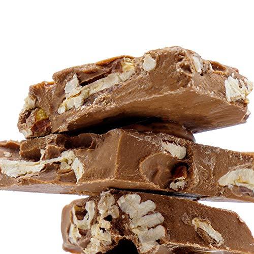 KERNschmelze Vollmilch-Schokostücke mit frisch gerösteten Pekannüssen | 350g belgische Schokolade in Premium Qualität