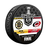 Inglasco 2019 NHL Conference Final Dueling Souvenir Puck: Bruins vs Hurricanes -