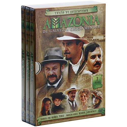 AMAZONIA - MINI SERIE/BOX (DVD)