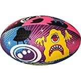 OPTIMUM Cartoon Ball, Pallone da Rugby Monster, SpaceMonster, Midi Unisex Adulto, Space Monsters