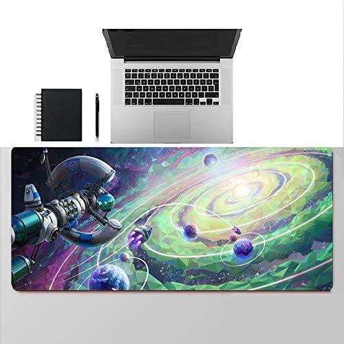 Impresión de Paisaje Espacial Alfombrilla de Ratón de Velocidad para Juegos Alfombrillas de Ordenador Alfombrilla de Ratón de Gran Tamaño Alfombrillas de Goma 600X300X3Mm