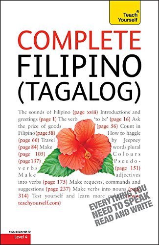 Complete Filipino (Tagalog) Beginner to Intermediate Course: Learn to Read, Write, Speak and Understand a New Language with Teach Yourself