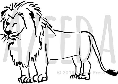 Lowenkopf Zeichnung Lowe Mit Krone Tattoo 1