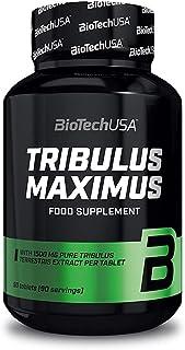 BioTech USA Tribulus Maximus 90 kapsułek 1500 mg z wysoką zawartością Saponingehal