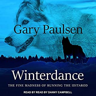 Winterdance audiobook cover art