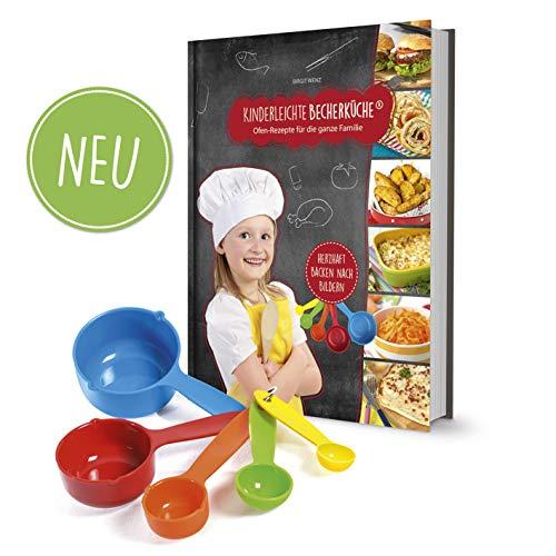 Kinderleichte Becherküche Band 3- 5 Messbecher und ein Rezeptbuch mit...