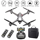 HIOTECH MJX Bugs 2 SE GPS Helicopter Drone with Backpack 2.4Ghz Return Home Quadcopter Wide-Angle 1080P HD WiFi Camera Good Choice for Drone Training