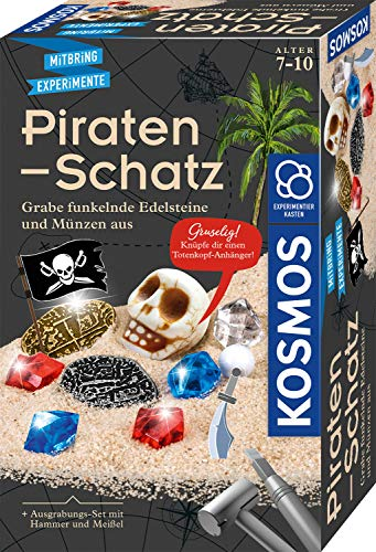 KOSMOS 657888 Piraten-Schatz Experimentierset, Ausgrabungs-Set