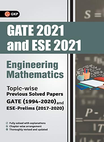 GATE & ESE Prelim Engineering Mathematics - Topicwise Previous Solved Papers