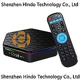 Hindotech T95Z Plus 3GB RAM 32GB ROM Amlogic S912 Octa Core Android TV BOX Media Player 4K HD 2.4G&5G WiFi BT4.0 Gigabit Lan Android 7.1 Smart TV Box