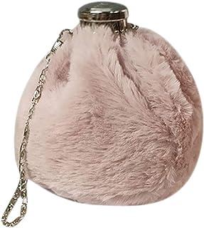 Fanspack Bucket Bag Mini Cute Wine Pot Shaped Shoulder Purse All-Match Crossbody Bag
