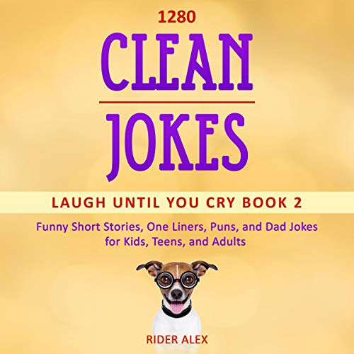 1,280 Clean Jokes  By  cover art