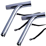2X Boat Stainless Steel Fishing Rod Holder Outrigger Mount Adjustable Yacht Rod Pod