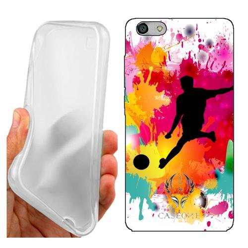 Custodia Cover Case Calcio Maschile per Huawei G Play Mini