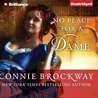 No Place for a Dame audiobook cover art