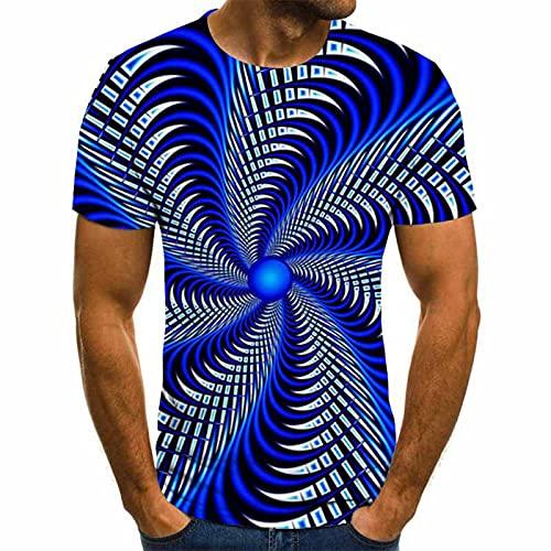 SSBZYES Camiseta De Verano para Hombre Camiseta De Manga Corta Camiseta De Cuello Redondo Camiseta con Estampado De Tallas Grandes Camiseta De Moda para Parejas Camiseta Deportiva