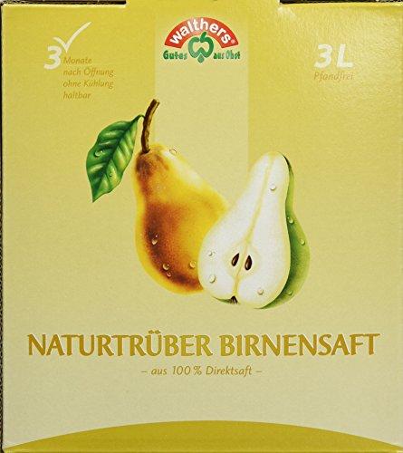 Walthers Birnensaft Direktsaft natur (1 x 3 l Saftbox)