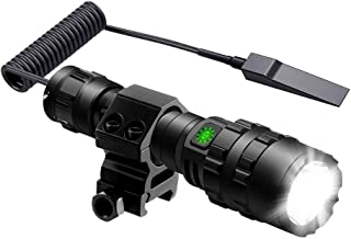 Best picatinny flashlight with pressure switch Reviews