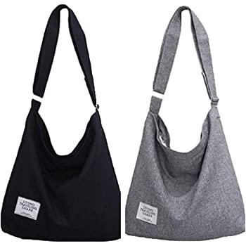 K T One Canvas Handbags Work Travel School Hobo Crossbody Shoulder Tote Purse Bags
