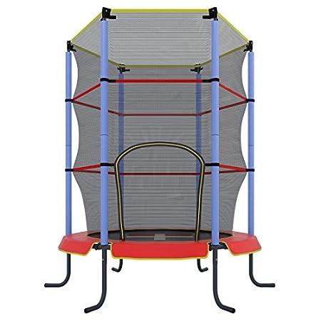 Ultrasport Kinder Indoor-Trampolin Jumper 140 cm