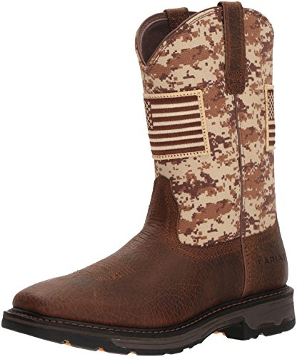 Ariat Men's Workhog Patriot Work Boot Construction