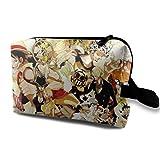 Neceser bolsa de viaje Cool One Piece maquillaje bolsa para mujeres y niñas