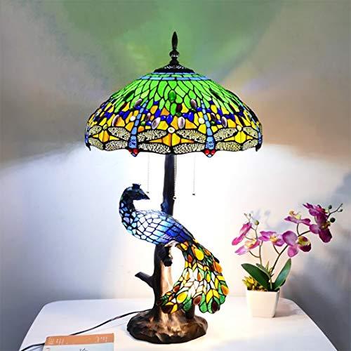 beautiful peacock lamp for sale