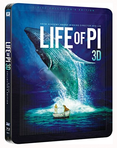 Life Of Pi - Ultra Limited Edition Lenticular Steelbook + Booklet [Blu-ray 3D + Blu-ray]