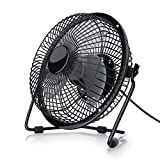 CSL - Ventilatore USB da 15cm di Diametro - Inclinabile - Scocca in Metallo ed...