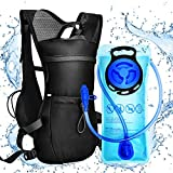 VBG VBIGER Hydration Pack Backpack - with 2L Water Bladder Bag Daypack for Hiking Marathon Running Race Outdoor Cycling Climbing Hunting Biking Lightweight Vest for Women Men