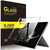 ELTD マイクロソフトSurface Go ガラスフィルム Surface Go 保護フィルム 耐指紋 高透過率 気泡ゼロ 硬度9H