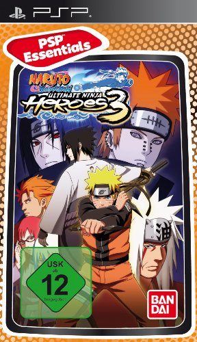 Naruto Shippuden - Ultimate Ninja Heroes 3  [Essentials] [Importación alemana]